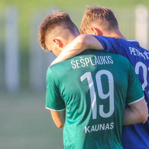 "A lyga: ""Kauno Žalgiris"" – ""Hegelmann"" 2:2"