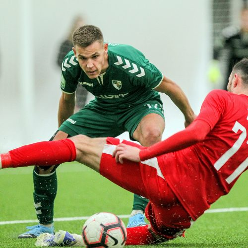 "Futbolo kontrolinės: ""K. Žalgiris"" – ""Sūduva"" 0:0"