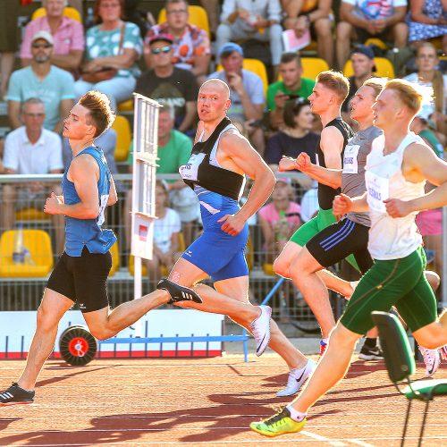 Lengvoji atletika. Lietuvos čempionatas. 1 diena  © Evaldo Šemioto nuotr.