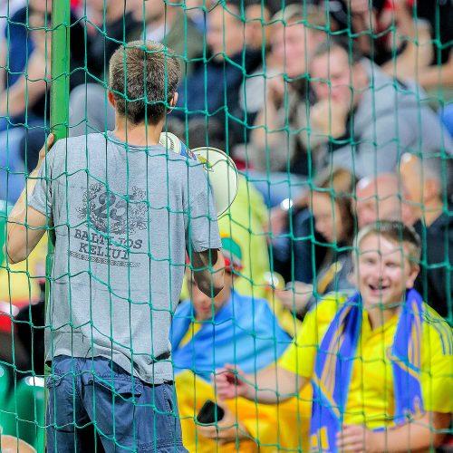 EURO 2020 atranka: Lietuva – Ukraina 0:3  © Evaldo Šemioto nuotr.