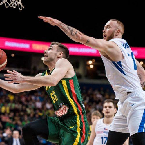 Krepšinis: Lietuva – Čekija 97:89