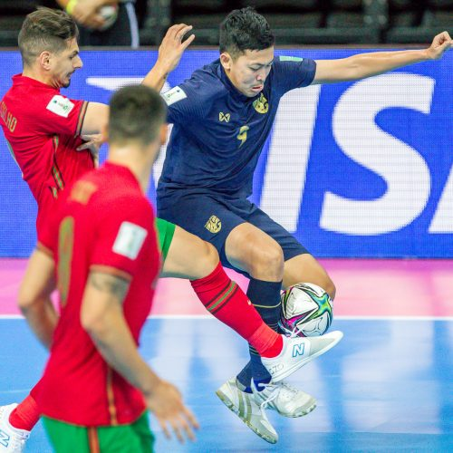 Tailandas – Portugalija 1:4 | Futsalo PČ  © Evaldo Šemioto nuotr.