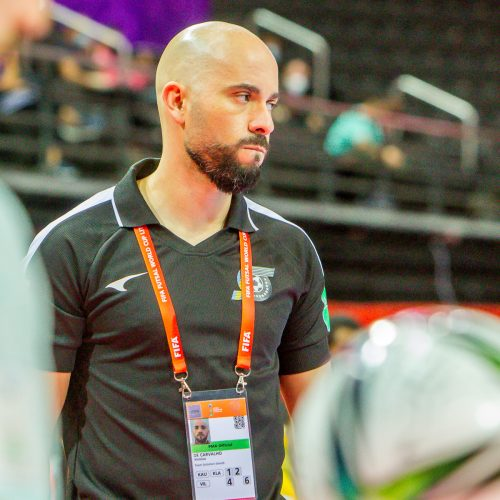 Saliamono salos – Portugalija 0:7   Futsalo PČ  © Evaldo Šemioto nuotr.