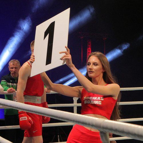 Boksas. A.Šociko turnyro finalai  © Evaldo Šemioto nuotr.