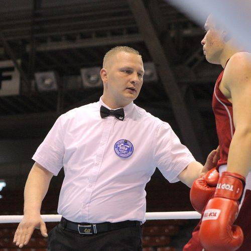 Boksas. A.Šociko turnyro pusfinaliai  © Evaldo Šemioto nuotr.