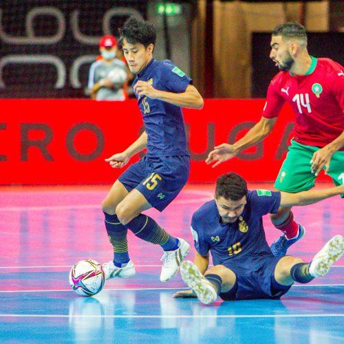 Tailandas – Marokas 1:1 | Futsalo PČ  © Evaldo Šemioto nuotr.
