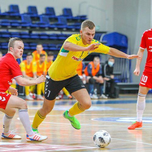 "Futsalo A lyga: ""Vytis"" – ""Panevėžys-Sportidus"" 6:1  © Evaldo Šemioto nuotr."