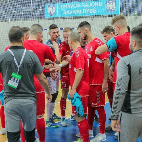 "Futsalas: ""Vytis"" – ""Ajat"" 4:5  © Evaldo Šemioto nuotr."
