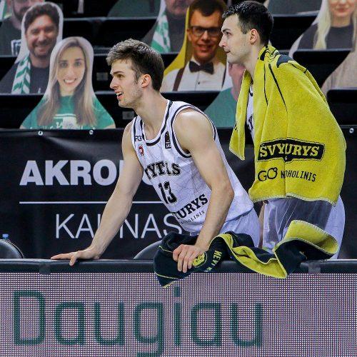 """LKL: """"Žalgiris"""" – """"Rytas"""" 85:86  © Evaldo Šemioto nuotr."""