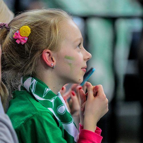 """Eurolyga: """"Žalgiris"""" – """"Alba"""" 104:80  © Evaldo Šemioto nuotr."""