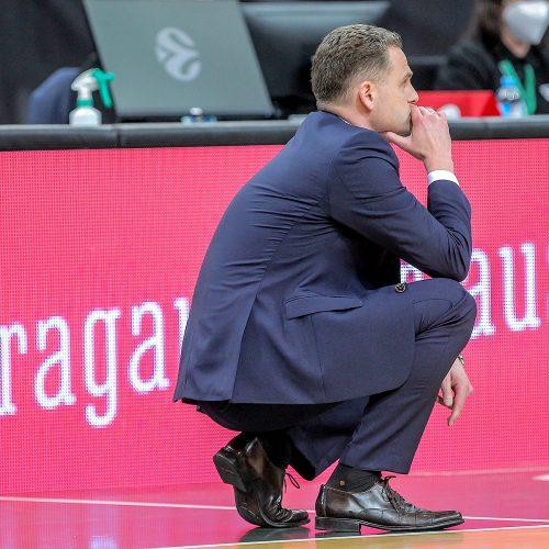"""Eurolyga: """"Žalgiris"""" – """"Barcelona"""" 62:73  © Evaldo Šemioto nuotr."""