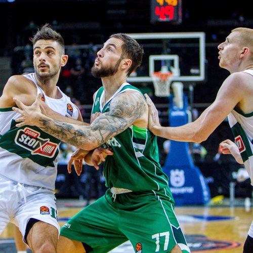 """""""We're Back"""" turnyras: """"Žalgiris"""" – """"Panathinaikos"""" 81:74  © Evaldo Šemioto nuotr."""