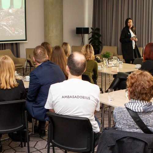 """Akcijos """"Darom"""" ambasadorių susitikimas  © P. Peleckio/Fotobanko nuotr."""