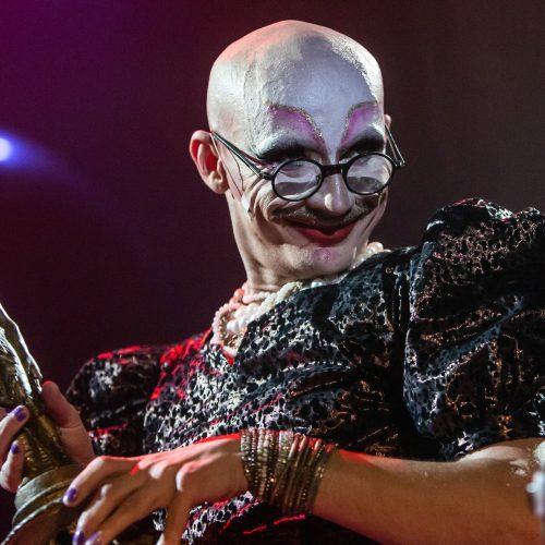 Režisieriaus M. Gośniowskio-Gąsiu performansas  © G.Skaraitienės/Fotobanko nuotr.