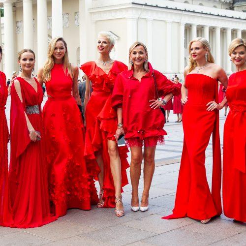 """Kampanijos """"Raudona suknelė""""  labdaros renginys  ©"""