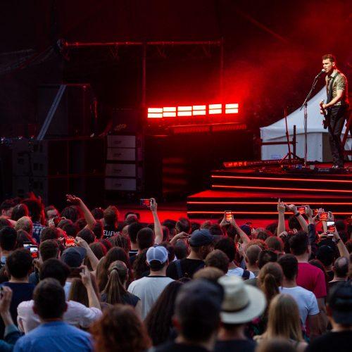 """Royal Blood"" koncertas  © P. Peleckio/Fotobanko nuotr."