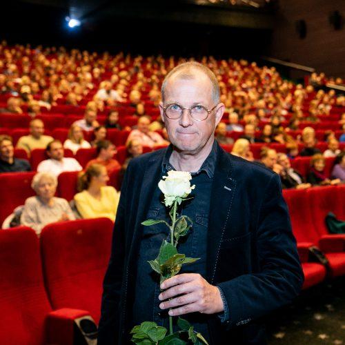 "V. V. Landsbergio dokumentinio filmo ""Vanago portretas"" premjera"
