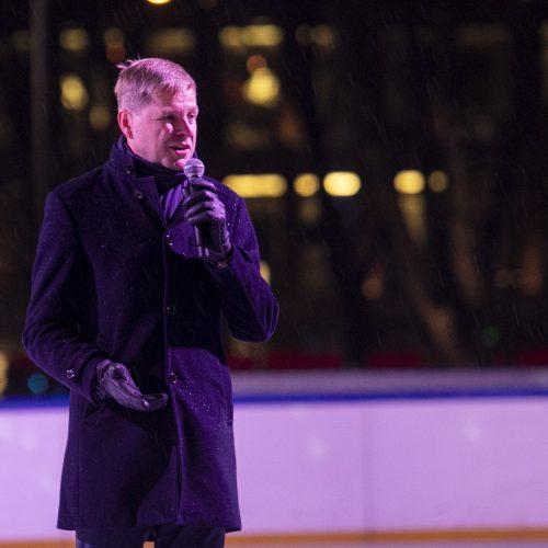 Lukiškių aikštėje atidaryta ledo čiuožykla  © P. Peleckio / Fotobanko nuotr.