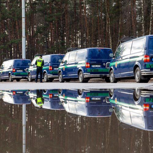 Galimai pagrobtos mergaitės paieška Vilniuje