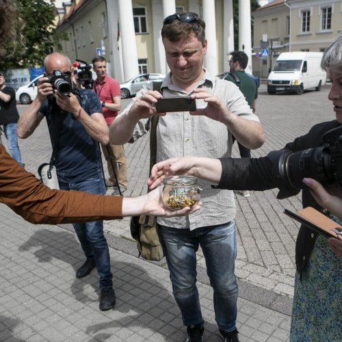 LGBT bendruomenė surengė prezidento padrąsinimo akciją  © P. Peleckio / Fotobanko nuotr.