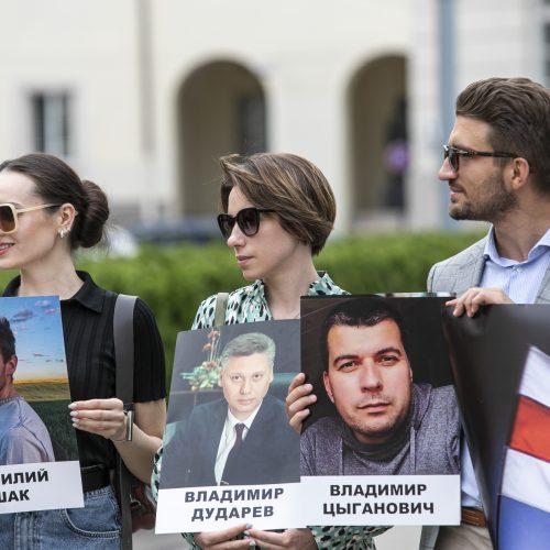 Protestas prieš žmogaus teisių pažeidimus Baltarusijoje