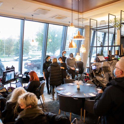 Vilniuje filmuojami švedų serialai  © I. Gelūno / Fotobanko nuotr.
