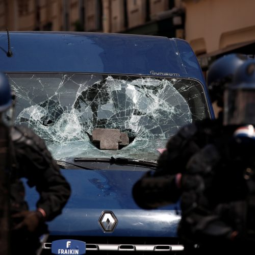 Gegužės 1-osios demonstracijos pasaulyje  © Skaitytojų nuotr.