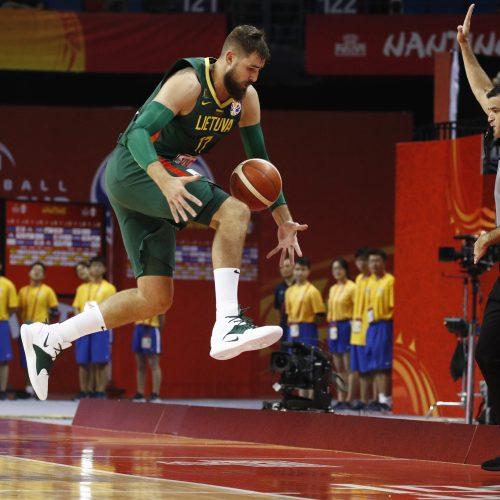 Žūtbūtinis mūšis pasaulio čempionate: Lietuva – Prancūzija  © Scanpix nuotr.