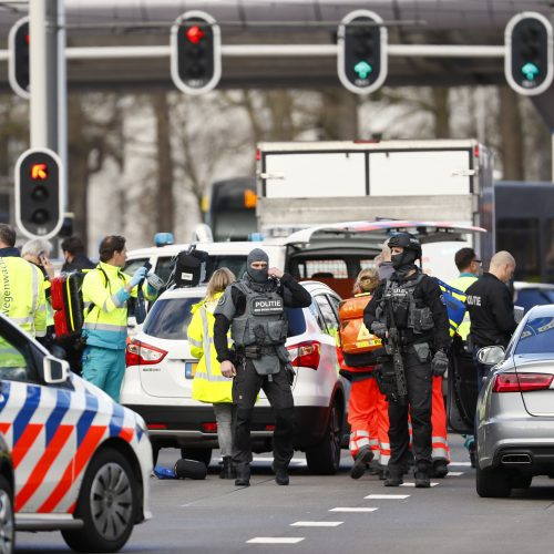 Šaudynės Nyderlanduose  © Scanpix nuotr.