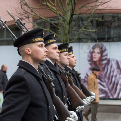 Tūkstančiai žmonių Vilniuje dalyvavo šventinėse eitynėse  © Butauto Barausko nuotr.