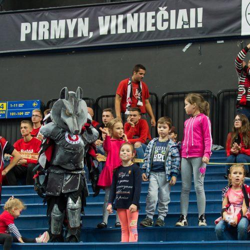 """Vilniuje dominavęs """"Žalgiris"""" tapo vienvaldžiu LKL lyderiu  © Butauto Barausko nuotr."""