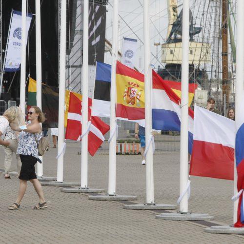 Regata pasiekė Klaipėdą: burlaiviai – įspūdingi  © Vytauto Liaudanskio nuotr.