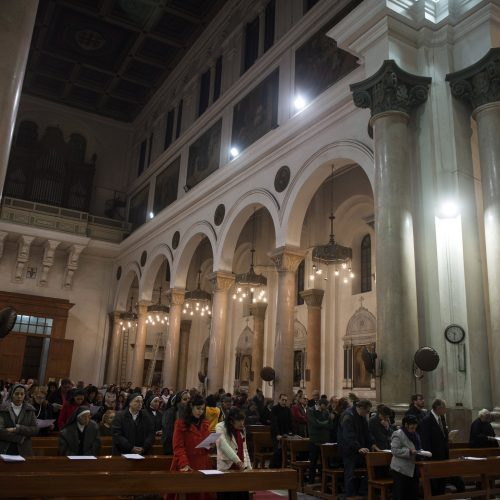Pasaulio katalikai švenčia Kalėdas  © EPA-ELTA nuotr.
