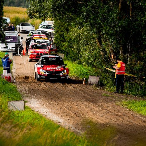 """""""Rally Žemaitija 2020"""" baigėsi įtikinama V. Žalos pergale  © Organizatorių nuotr."""