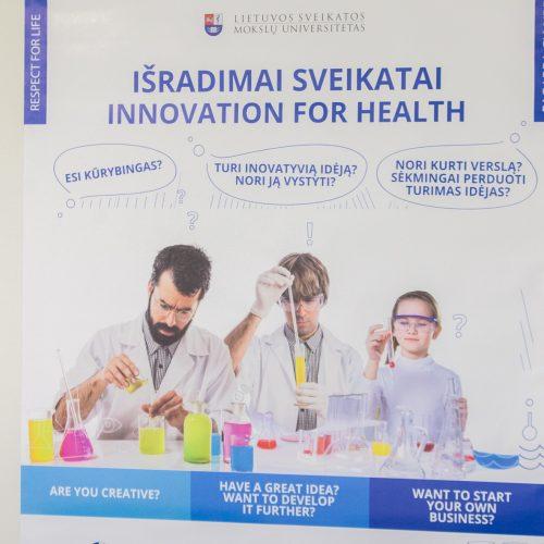 Inovacijos sveikatos srityje  © Laimio Steponavičiaus nuotr.