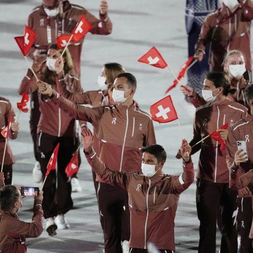 Tokijuje prasidėjo vasaros olimpinių žaidynių atidarymo ceremonija  © Scanpix ir K.Štreimikio nuotr.