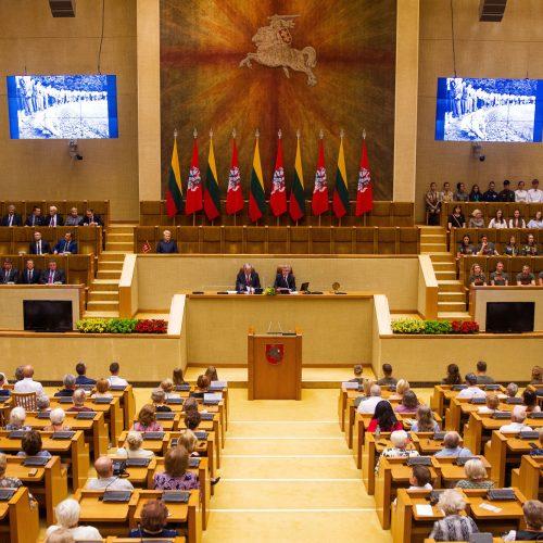 Gedulo ir vilties diena Seime