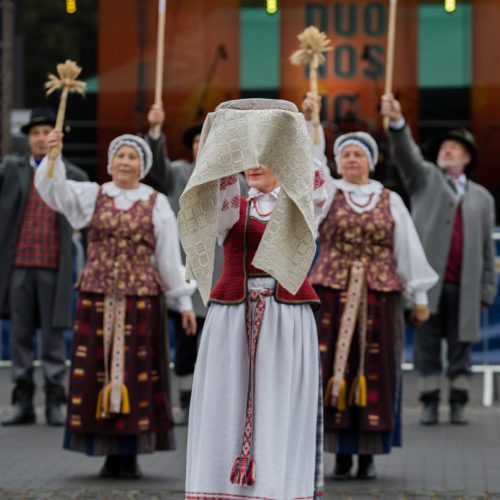 """Prienuose nuaidėjo """"Duonos ir ugnies"""" festivalis  © Organizatorių nuotr."""