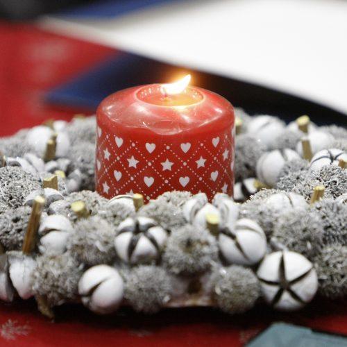 Kalėdinių planų aptarimas Klaipėdoje  © Vytauto Liaudanskio nuotr.