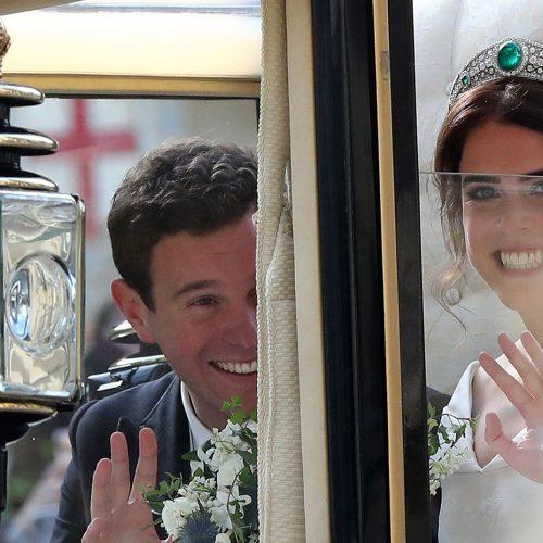 Didžiosios Britanijos princesės Eugenie vestuvės  © Scanpix nuotr.