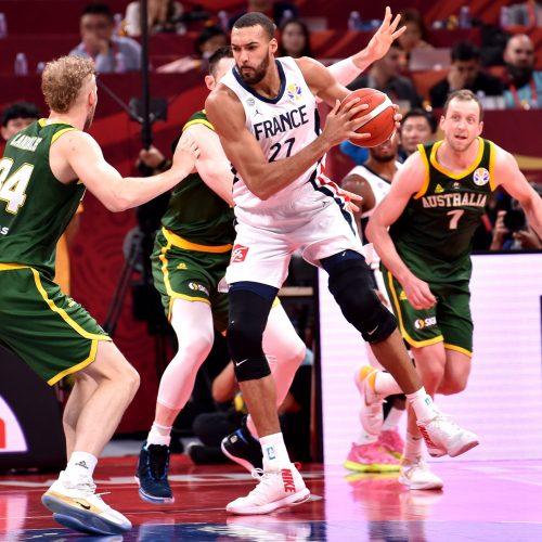 Pasaulio krepšinio čempionatas: Prancūzija – Australija  © Scanpix nuotr.