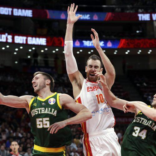 Pasaulio krepšinio čempionatas: Ispanija – Australija