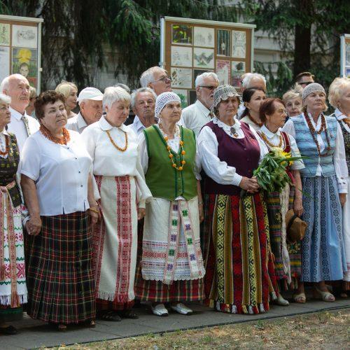 """Istorinės atminties akcija """"Ištark, išgirsk, išsaugok""""  © G. Skaraitienės / Fotobanko nuotr."""