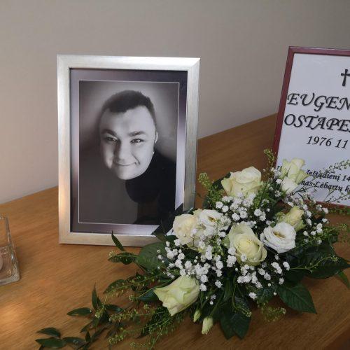Klaipėdoje – atsisveikinimas su anapilin iškeliavusiu E. Ostapenko