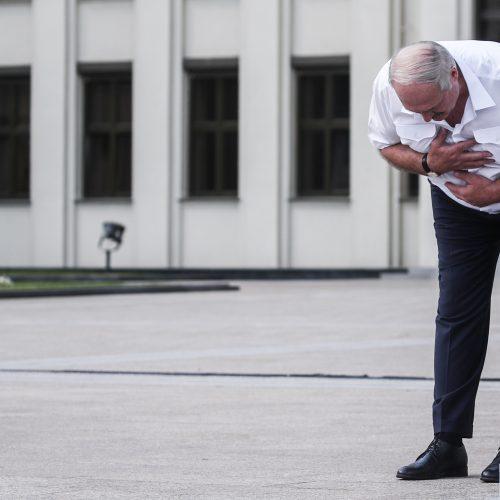 A. Lukašenkos kalba per savo šalininkų surengtą mitingą