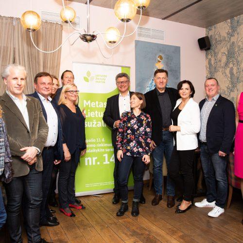 Seimo rinkimų rezultatų laukimas: Lietuvos žaliųjų partija