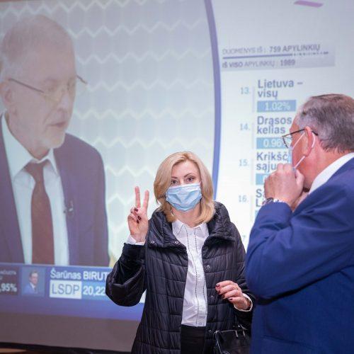 Seimo rinkimų rezultatų laukimas: Lenkų rinkimų akcija