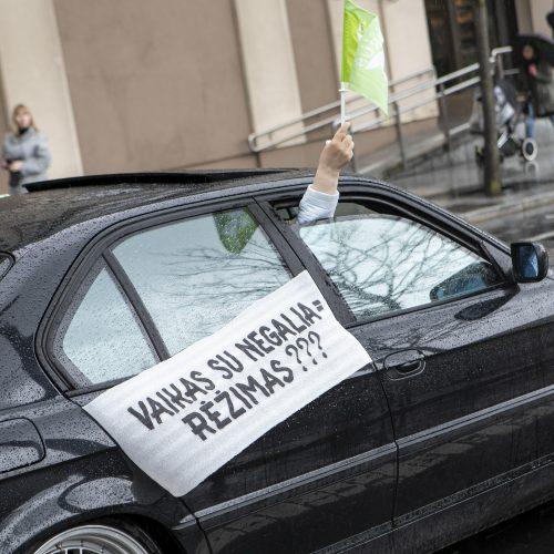 """Sanatorijos """"Belorus"""" darbuotojų protestas Vilniuje  © P. Peleckio / Fotobanko nuotr."""
