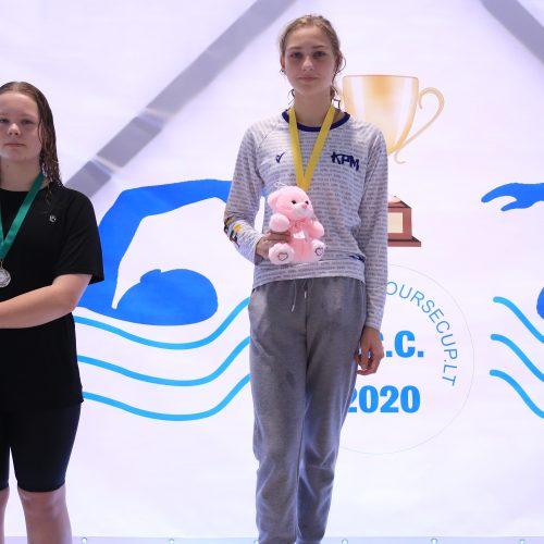 """Vaikų plaukimo turnyro """"Short cource cup 2021"""" pirmasis etapas Prienuose  © Organizatorių nuotr."""