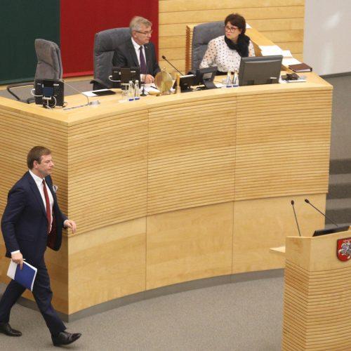 Seimas pradėjo 2020 metų valstybės biudžeto svarstymą   © D. Labučio / ELTOS nuotr.